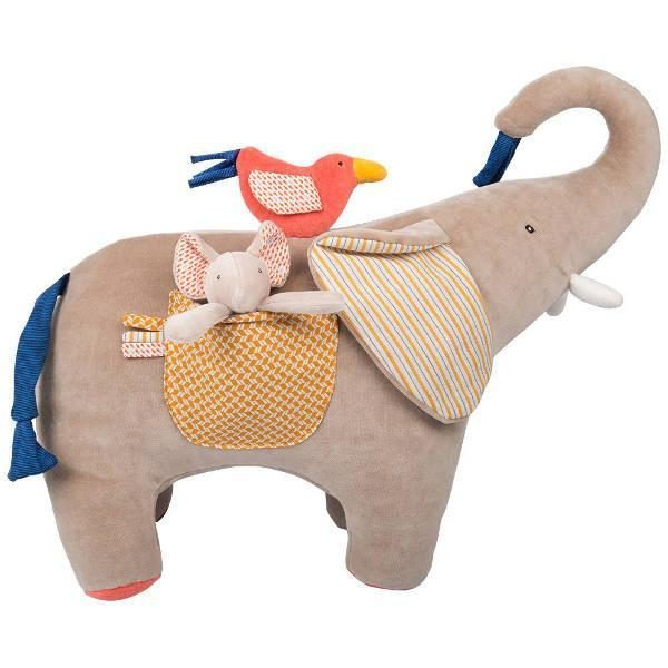 Moulin Roty Les Papoum Actvity Elephant