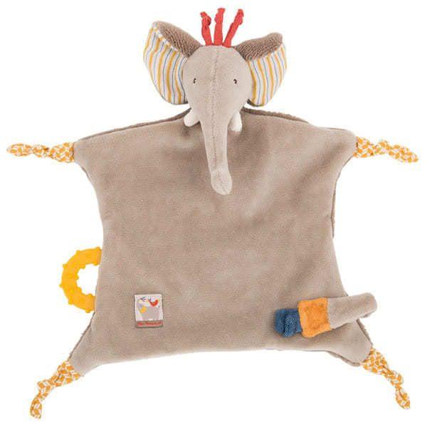 Moulin Roty Les Papoum Elephant Comforter