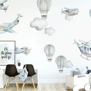 Ginger Monkey Flying High Full Decal Set
