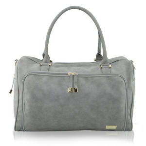 Isoki Double Zip Satchel Stone