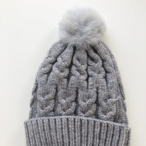 Luna Treasures Single Pom Beanie Storm