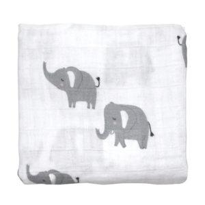 Mister Fly Elephant Muslin Wrap