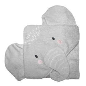 Mister Fly Hooded Elephant Towel