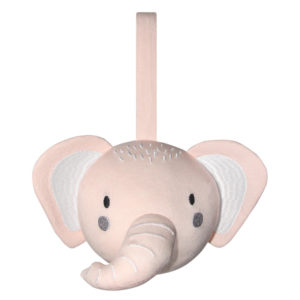Mister Fly Pink Elephant Pram Rattle Ball