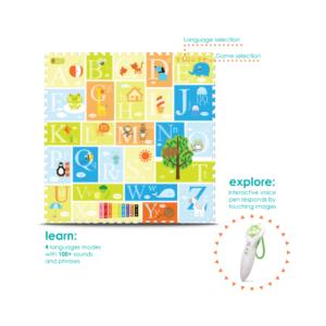 Creative Baby Interactive iMat & Pen Alphabet