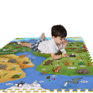 Creative Baby Interactive iMat & Pen My Animal World