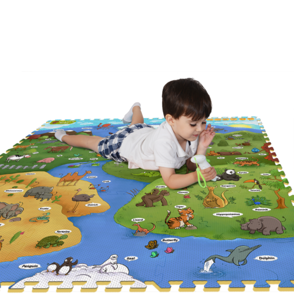 Creative Baby Interactive iMat & Pen My Animal World