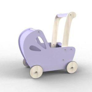 Moover Line Doll Pram Light Purple