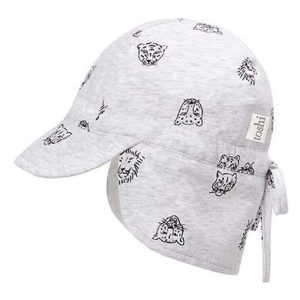 Toshi Flap Cap Baby Big Cats