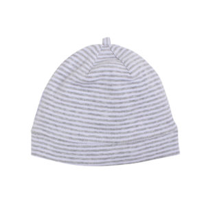 Bebe Australiana Grey Stripe Beanie