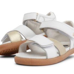 Bobux I-Walk Saild Sandal White & Gold