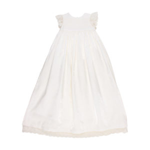 Bebe Special Occassion Beaded Christening Gown