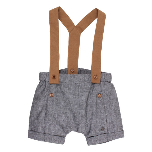 Bebe Henry Woven Shorts with Braces