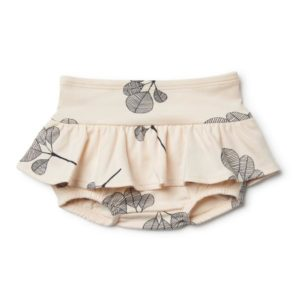 Wilson & Frenchy Organic Nappy Pant with Ruffle Fan Leaf
