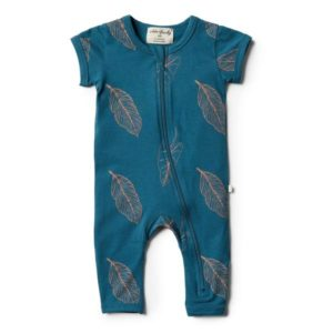 Wilson & Frenchy Organic Zipsuit Jungle Fever