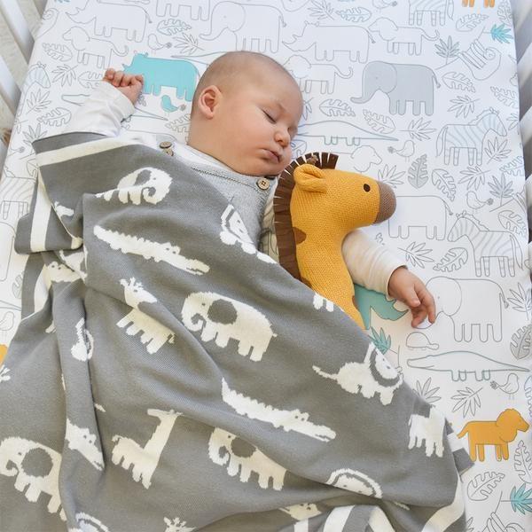 Lolli Living Urban Safari Pram Blanket