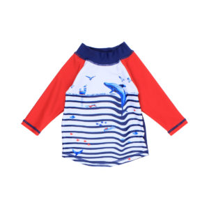 Bebe Cody Wave Rash Vest