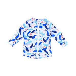 Bebe Cody Zip Rash Vest