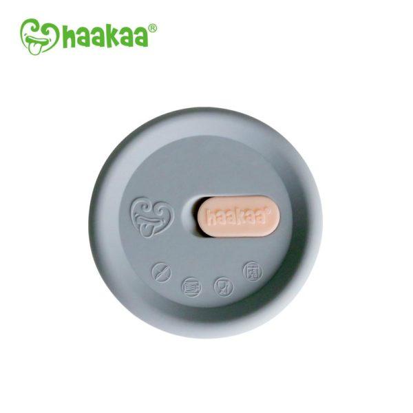 Haakaa Silicone Breast Pump Cap Grey