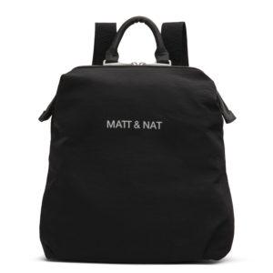 Matt & Nat Dublin Nappy Backpack Black