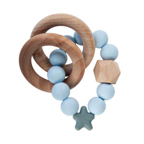 Nibbling Stellar Natural Wood Teether