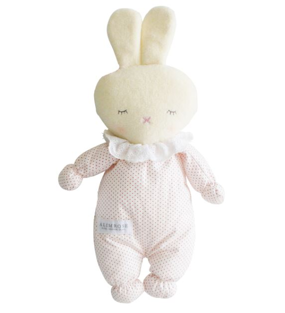 Alimrose Asleep Awake Bunny Pink