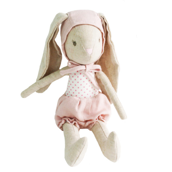 Alimrose Baby Girl Bunny in Bonnet