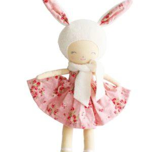 Alimrose Bunny Belle Girl Pink Floral