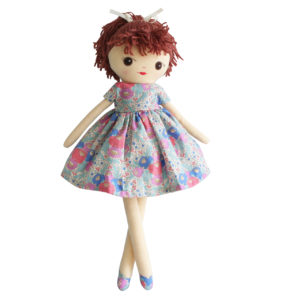 Alimrose Nina Doll Blue Pink
