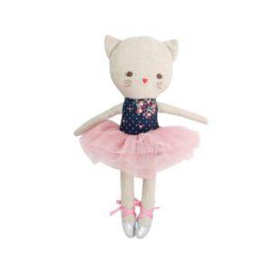 Alimrose Odette Kitty Ballerina Midnight Floral