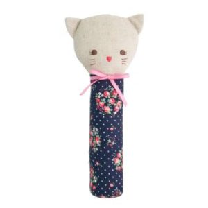 Alimrose Odette Kitty Squeaker Midnight Floral