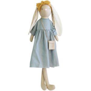 Alimrose Sofia Bunny Grey Linen