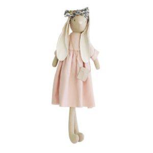 Alimrose Sofia Bunny Pink Linen