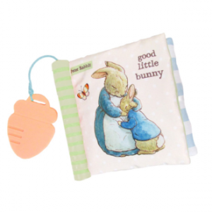 Beatrix Potter Peter Rabbit Soft Book with Teether