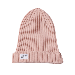 Cracked Soda Coco Knit Beanie Pink