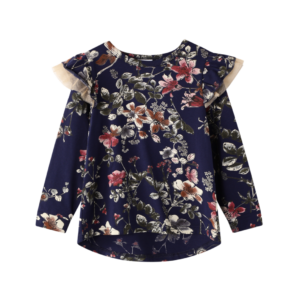 Cracked Soda Willow Floral Top