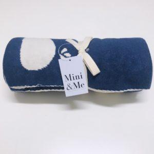Mini & Me Whale Blanket