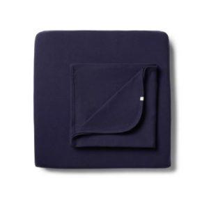 Wilson & Frenchy Organic Bassinet Sheet Set Little Twilight Blue