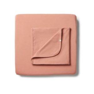 Wilson & Frenchy Organic Cot Sheet Set Clay