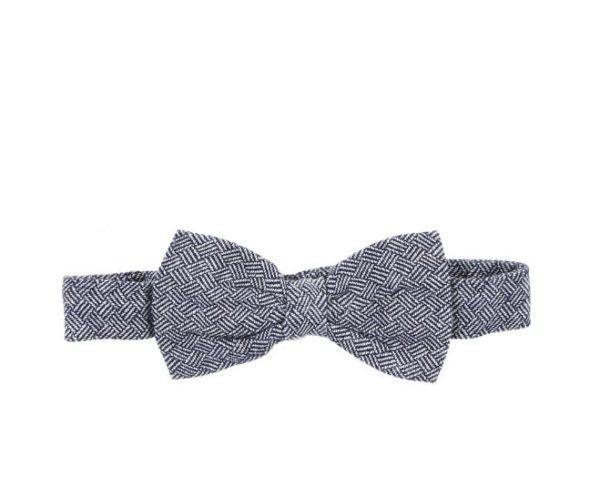 Bebe George Bow Tie Blue