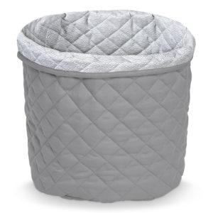 Cam Cam Copenhagen Quilted Storage Basket Grey