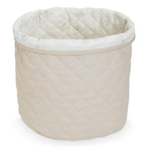 Cam Cam Copenhagen Quilted Storage Basket Sand