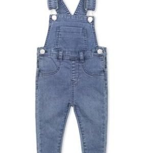 Milky Knit Overall Denim