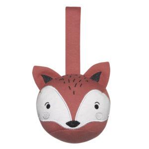 Mister Fly Pram Rattle Ball Fox