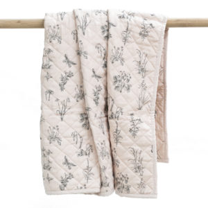 Burrow & Be Cot Quilt Blush Meadow