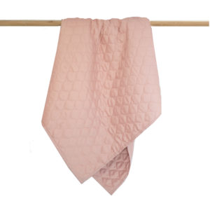 Burrow & Be Cot Quilt Dusty Rose