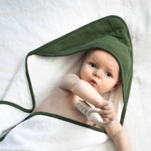 Burrow & Be Hooded Towel Pine