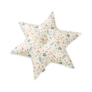 Cam Cam Copenhagen Star Cushion Pressed Leaves Rose