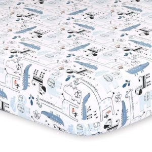 Little Haven Safari Safari Cot Fit Sheet Safari