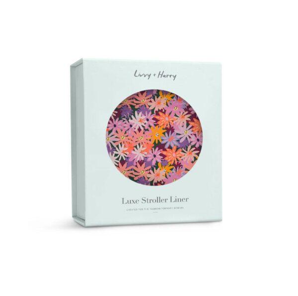 Livvy + Harry Pram Liner Colourpop Floral